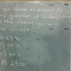 Multiple Choice Question Item Construction