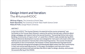 HumanMOOC abstract