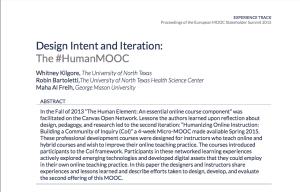 HumanMOOC abstract