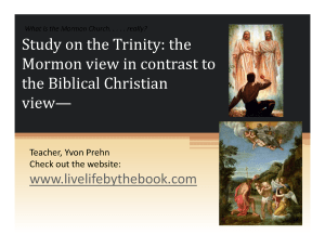 Study of the Trinity, #1, full size slide