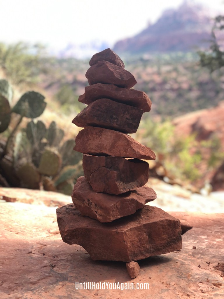 Encouragement For the Path, Evidence of God, Sedona, child loss, surviving the loss of a child, The Cairn