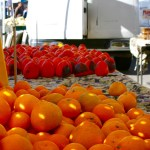 Mandarin oranges at Mountain View farmers market