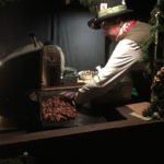Roasted Chestnuts at the Dickens Fair, Daly City