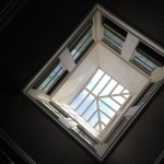 Vented skylight at Folger Stable Historic Site, Woodside