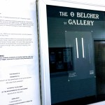 Announcement and excerpt of the O Belcher Gallery.
