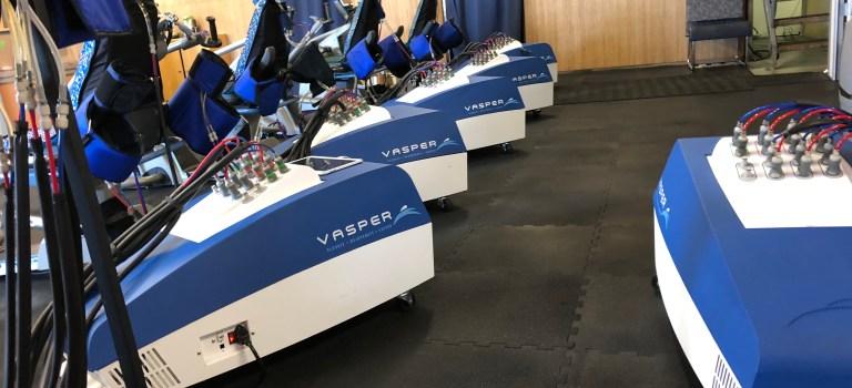 Vasper cooling machines, Moffett Field