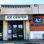 Entrance of the Ice Center, Cupertino.