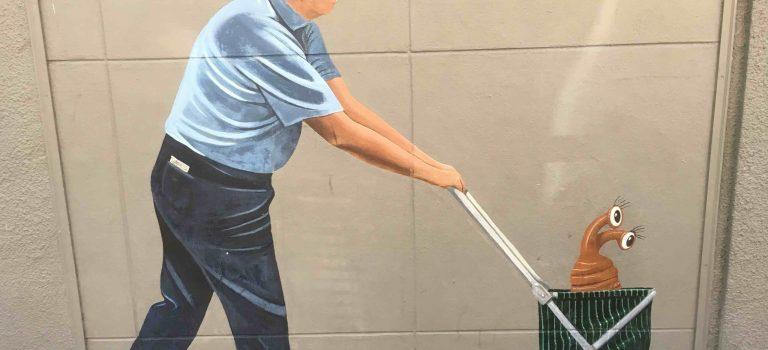 Greg Brown mural in Palo Alto.