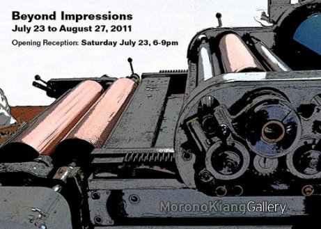 Beyond Impressions July 23, 2011 - August 27, 2011 Morono Kiang Gallery