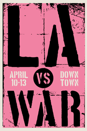 LA vs War Fine Art Section April 2008 Firehouse, Los Angeles
