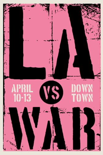 LA vs War Fine Art Section April 2008 Firehouse, Los Angeles