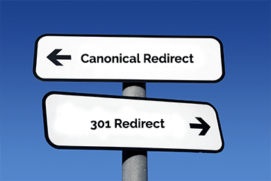 Canonical or 301 Redirects
