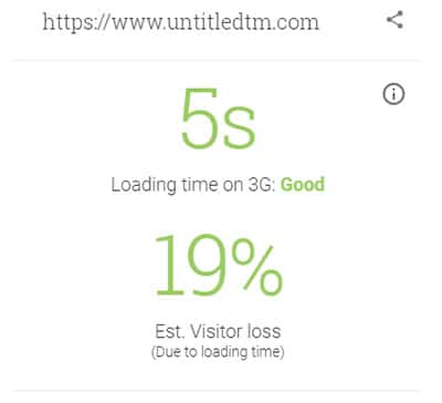 Test My Website - Cheshire Web Design Loading Time