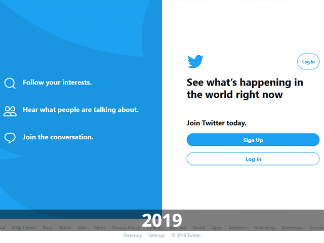 Twitter Website In 2019