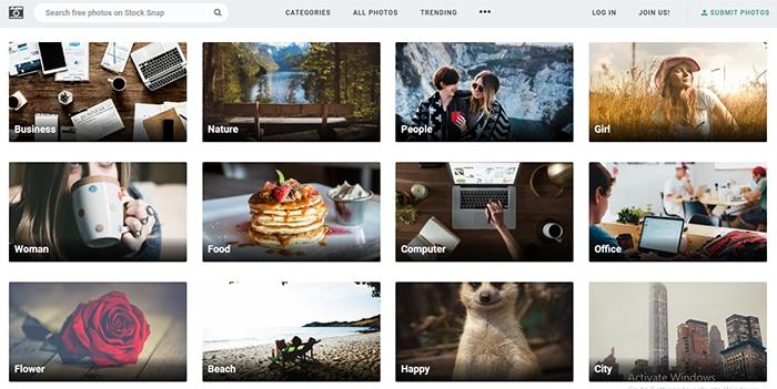 StockSnap Image Search