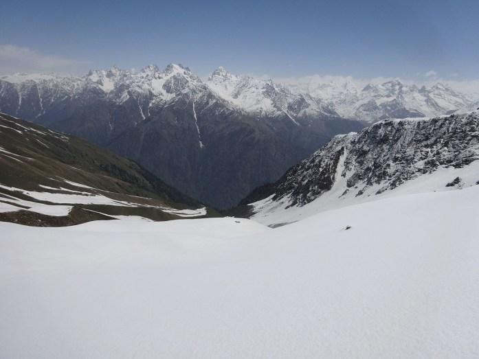 snow treks in India