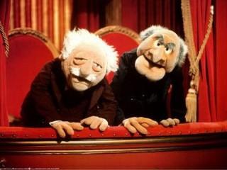 Hecklers Statler and Waldorf