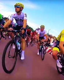 Team Sky's Tour de France week one Go Pro highlights