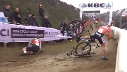 Cyclo-Cross Crash Compilation 2017
