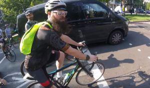 Cyclist Vs Cyclist Road Rage