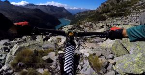 That BRUTAL hike a bike was worth every second