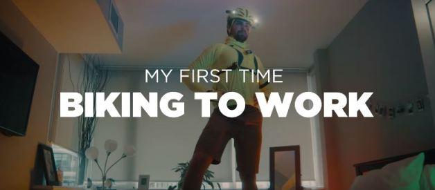 My First Time Biking to Work