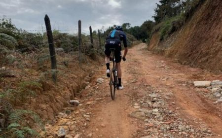 Hard Training Off Road by Chris Froome