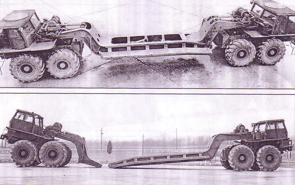 8X8 WHEELED AND MORE ARTICULATED VEHICLES, HEAVY