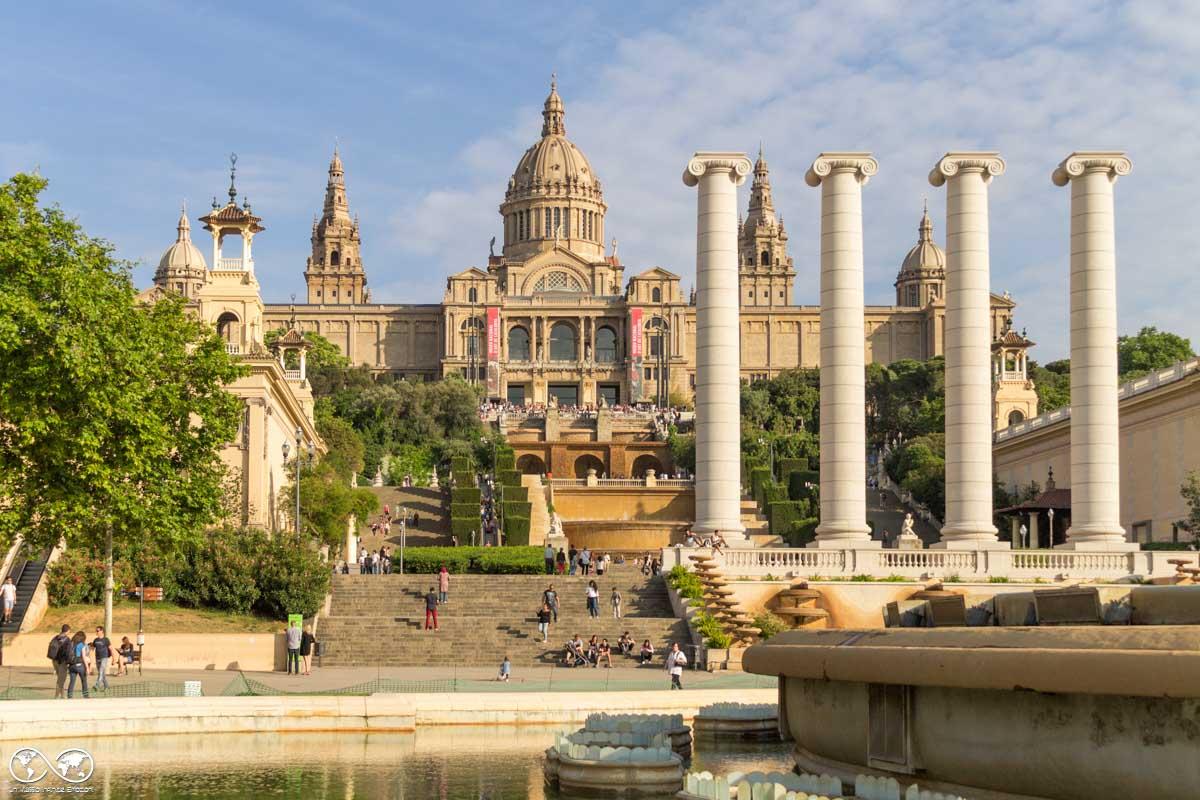 Barcellona: Il Palau Nacional e la Fontana Magica