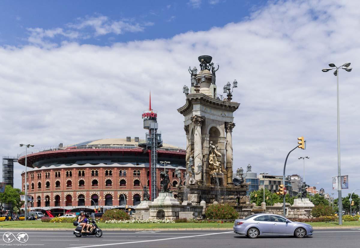 Barcellona: Placa d'Espanya