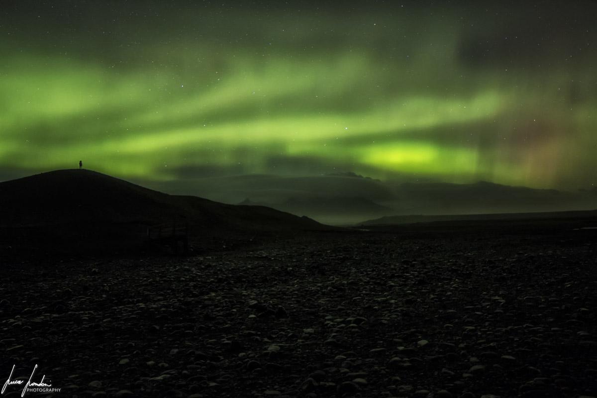 Aurora Boreale a Jokulsarlon