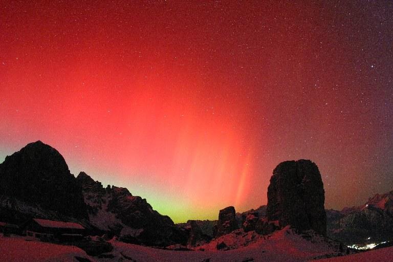 Aurora Boreale a Cortina (2003)