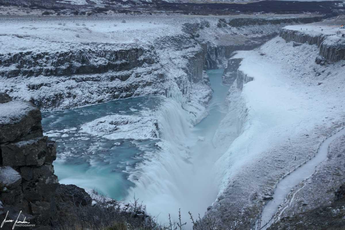 Cascate in Islanda: Gullfoss