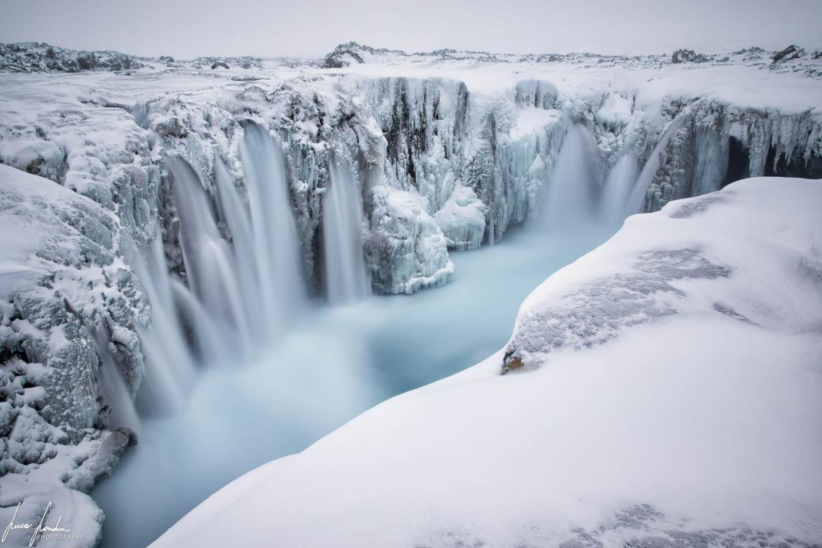 Cascate in Islanda: Hrafnabjargafoss
