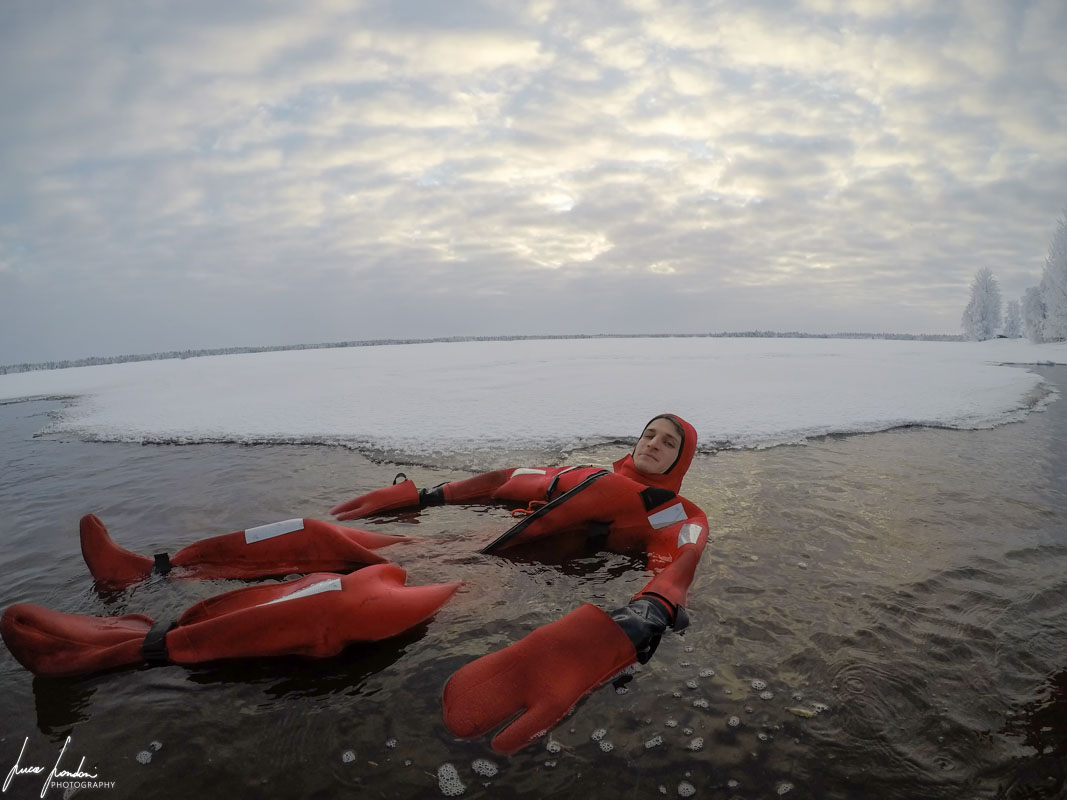 Yllas: Ice Floating experience con Safartica