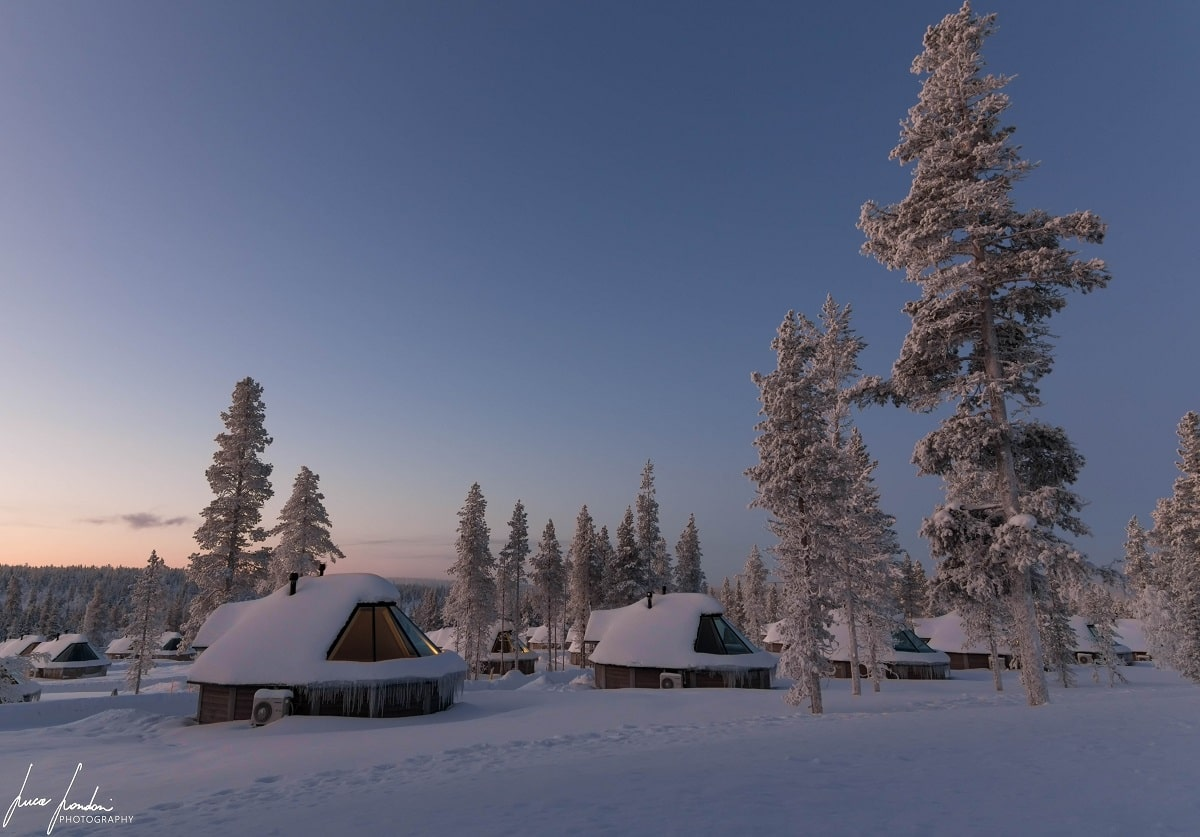 Dove dormire in Lapponia: Northern Lights Village di Saariselka