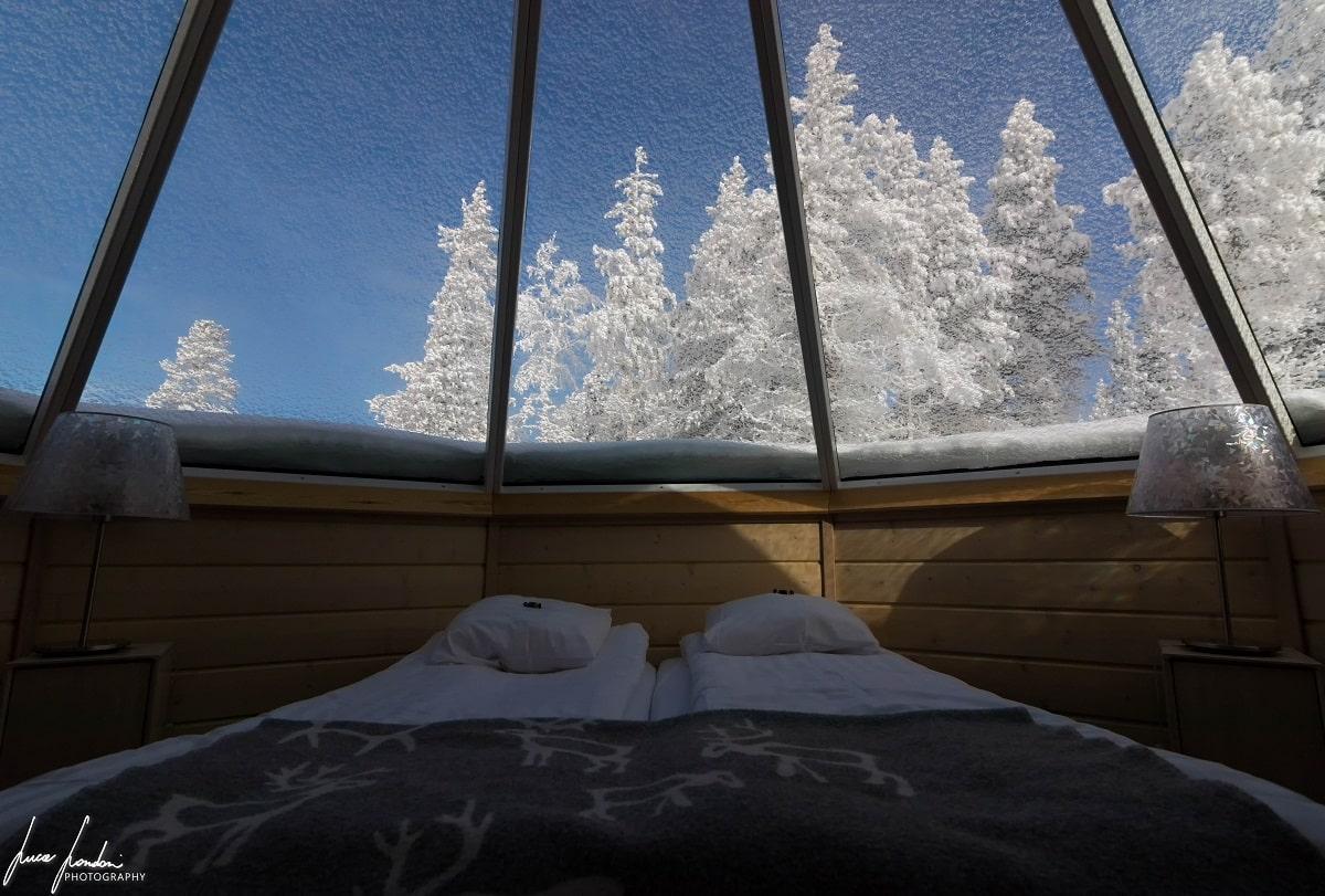 Dormire in Lapponia: Northern Lights Village di Saariselka
