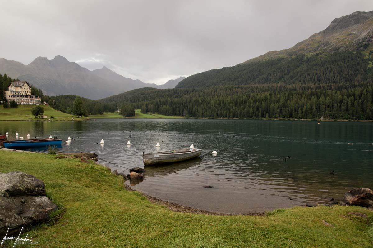 Trenino del Bernina: Lago di St. Moritz