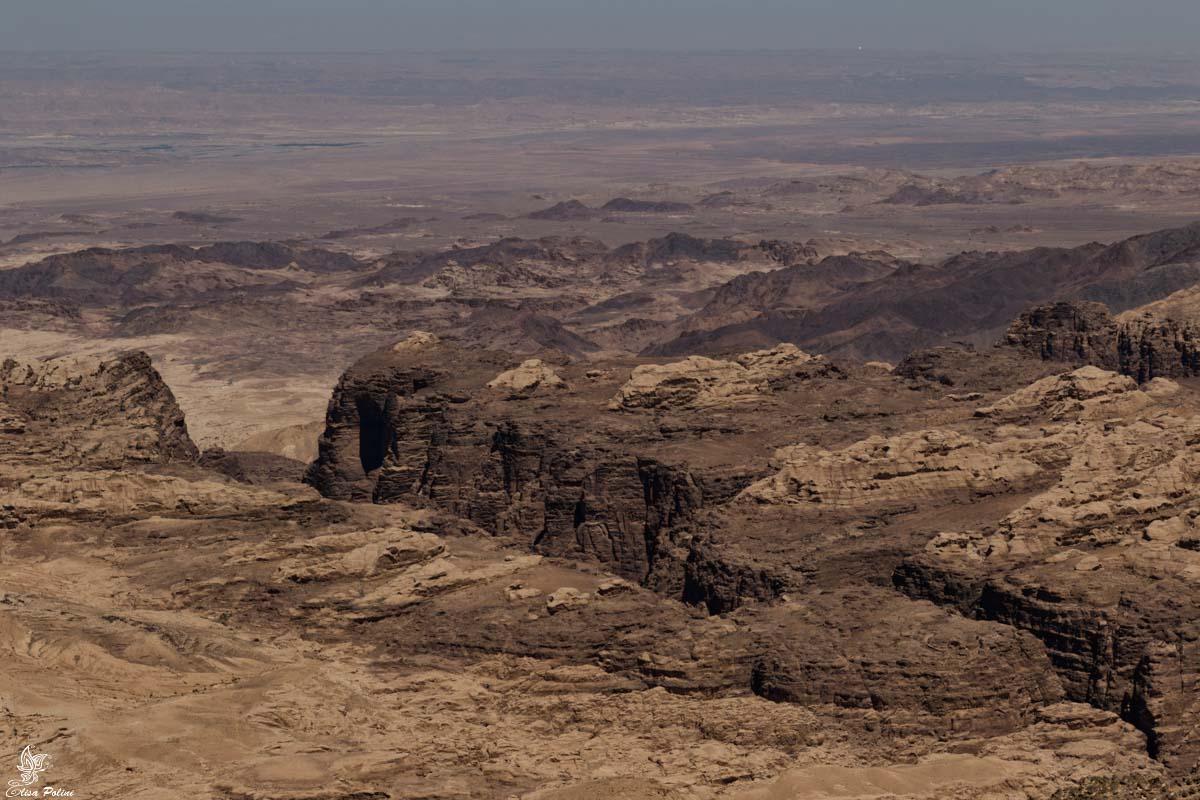 Strada dei Re: panorama sul Wadi Mujib