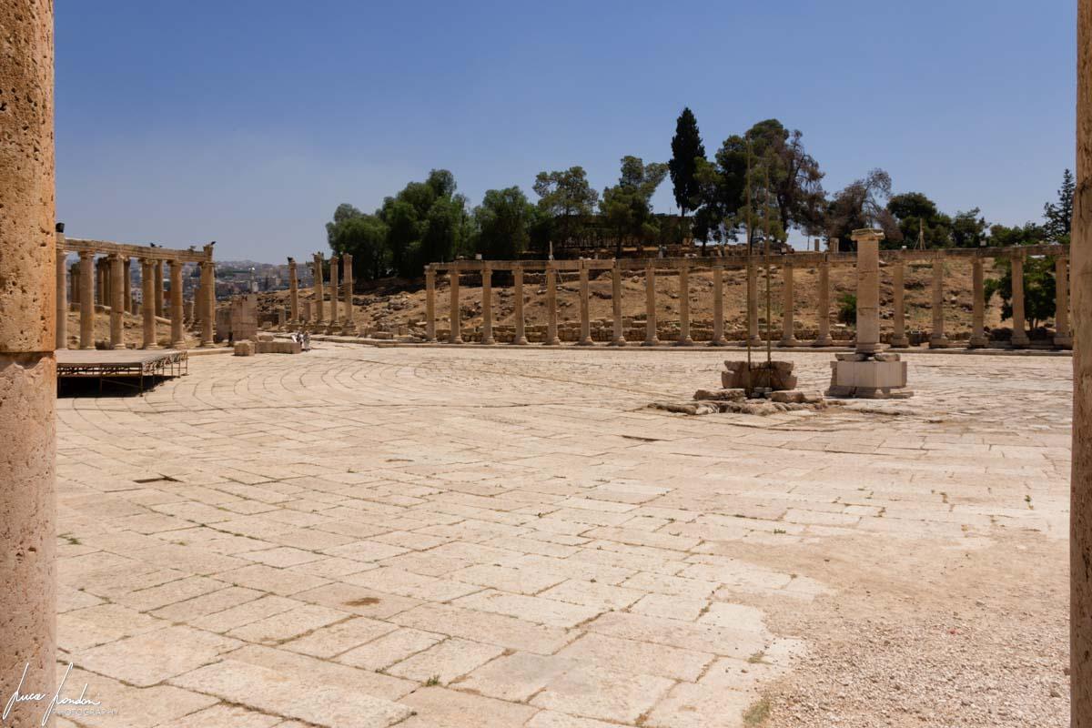 Itinerario in Giordania: Jerash