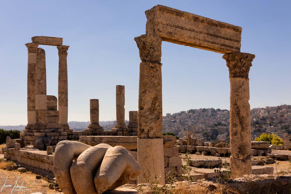 Itinerario in Giordania: Cittadella di Amman
