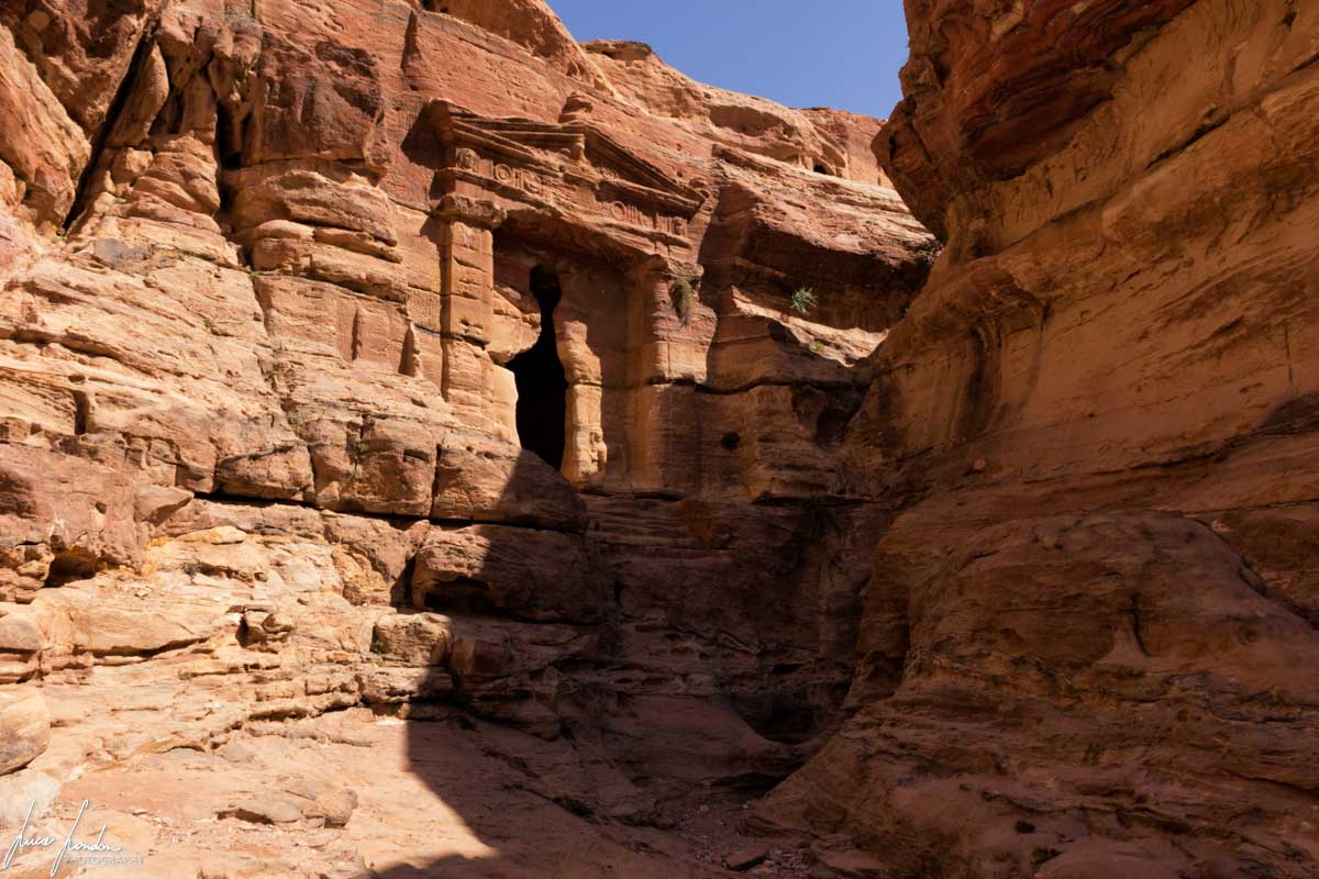 Trekking a Petra: Triclinium dei Leoni