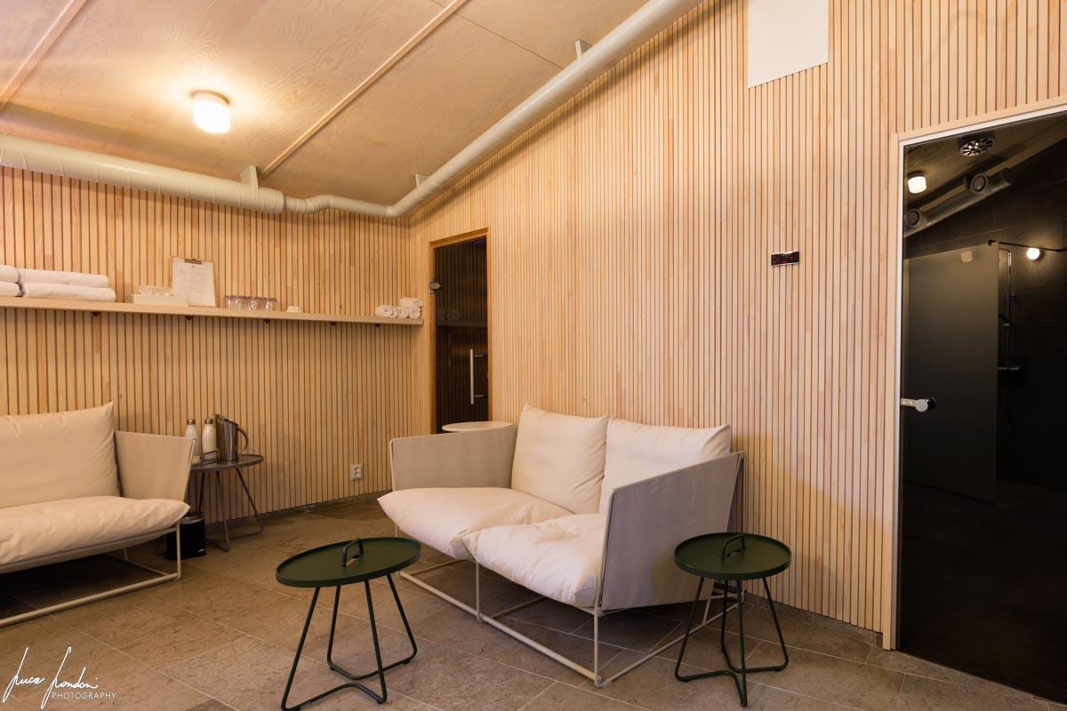 Arctic Bath: la struttura dove si trovano sauna e bagno turco