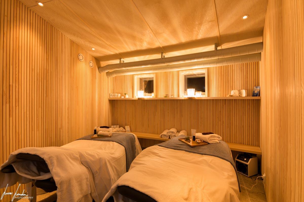 Arctic Bath: stanza per i massaggi