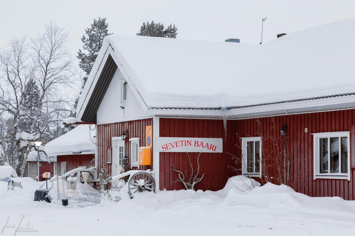 Villaggi Sami: bar di Sevettijarvi