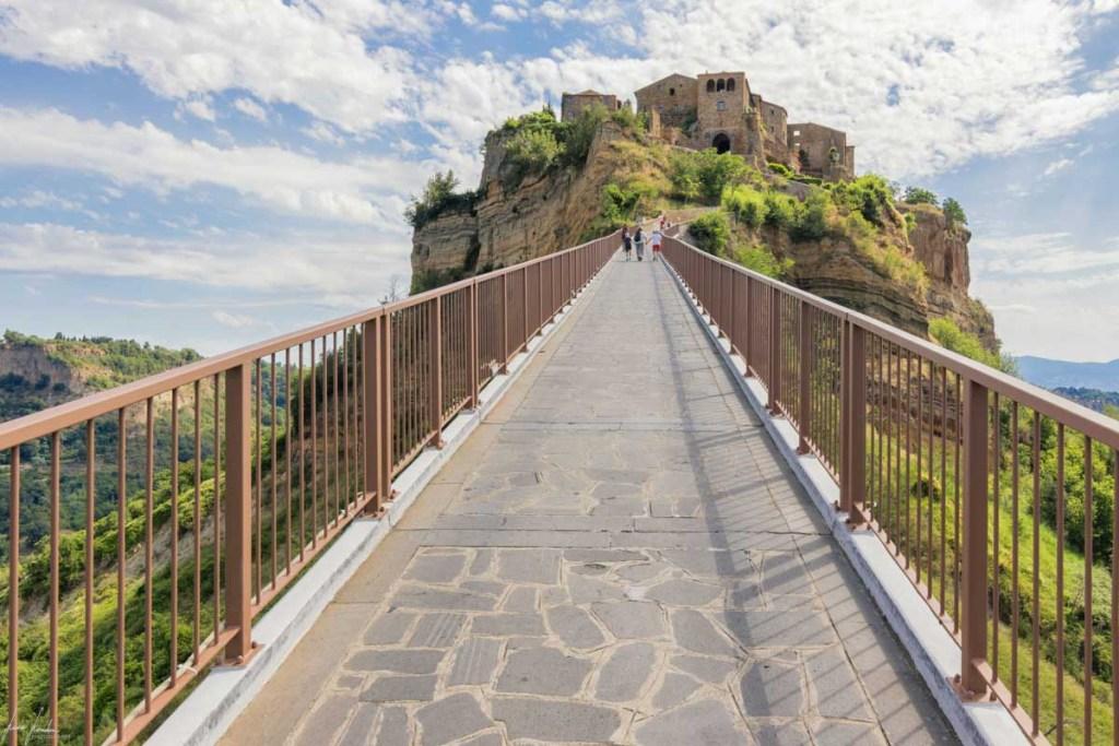 Ponte di accesso a Civita di Bagnoregio