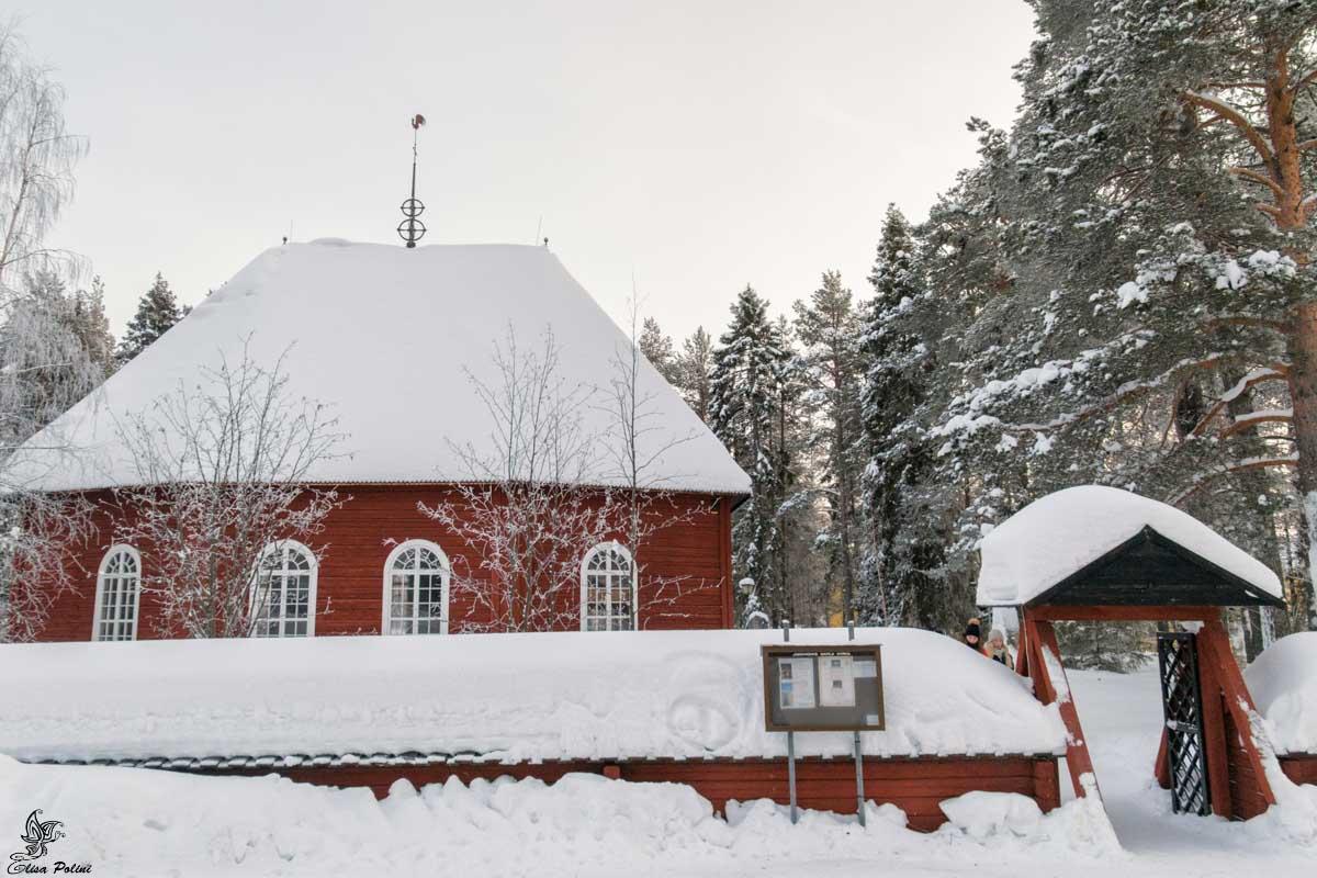 Vecchia Chiesa di Jokkmokk
