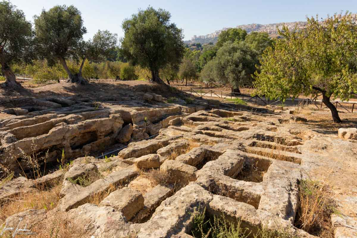 Valle dei Templi: Necropoli Paleocristiana