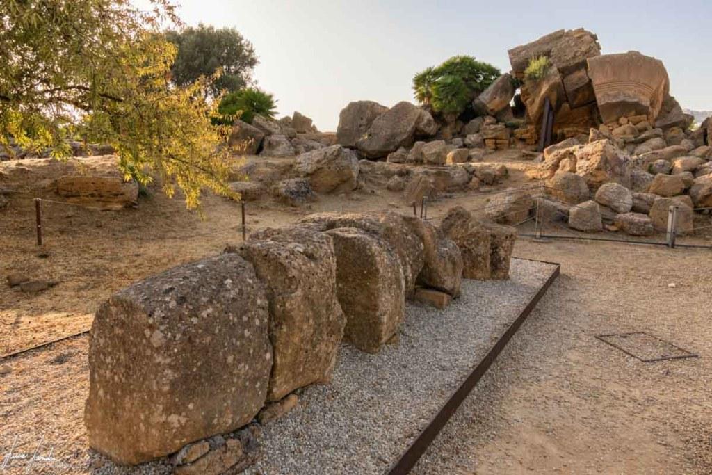 Valle dei Templi: Telamone al Tempio di Zeus