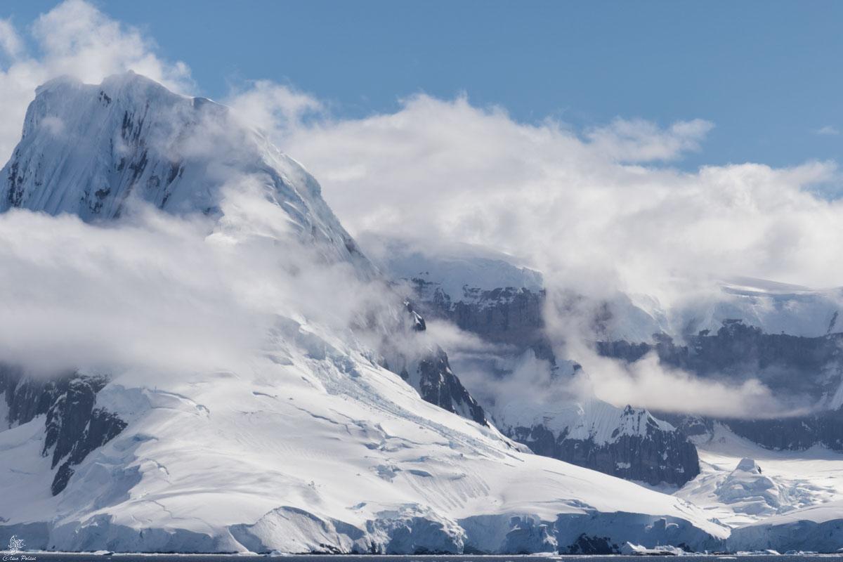 Curiosità sui ghiacciai: Ghiacciaio in Antartide